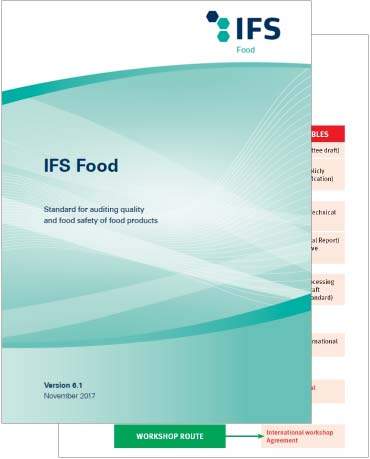 click for IFS food quality control